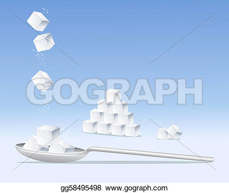 Silver clipart spoon sugar Tumbling Clipart illustration on An