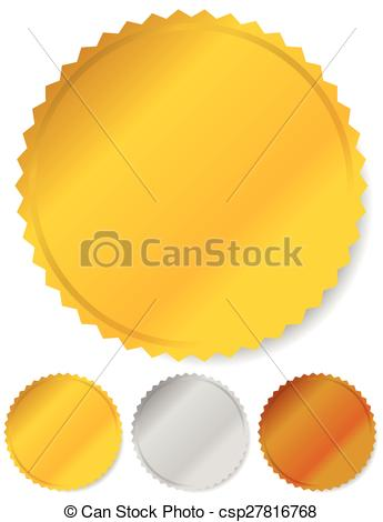 Silver clipart starburst Gold bronze silver and shapes