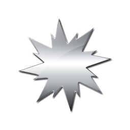 Silver clipart starburst  Icon Sunburst Icons #051564