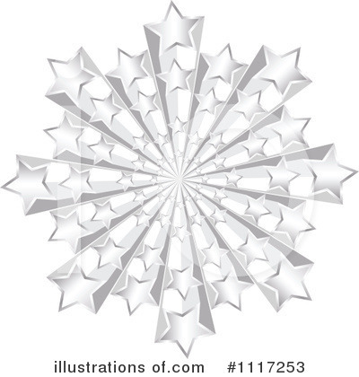 Silver clipart starburst Royalty Stars Free #1117253 Clipart