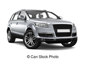 Silver clipart suv And on car background suv