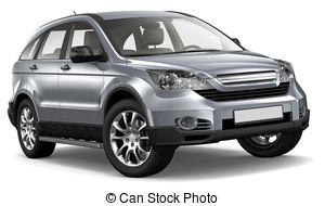 Silver clipart suv And a Compact background Compact