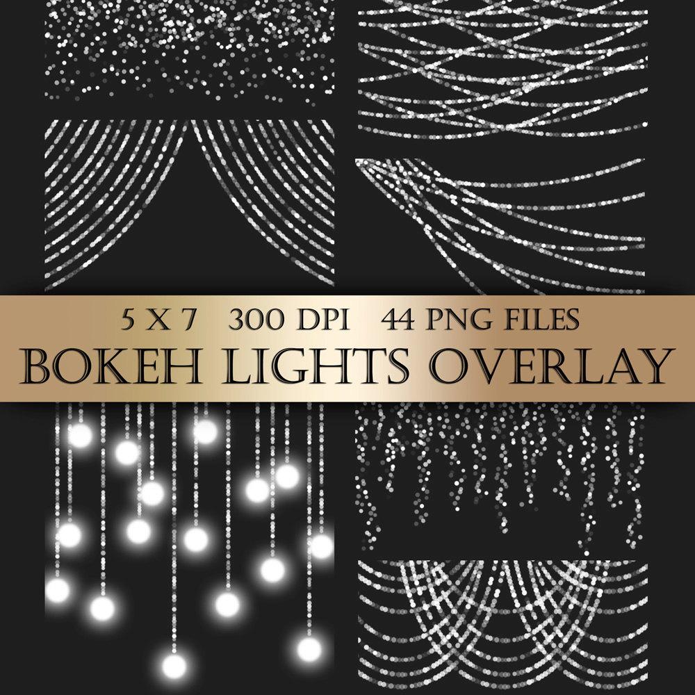 Chandelier clipart transparent background Transparent scrapbooking Bokeh christmas lights