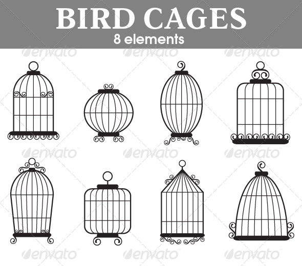 Simple clipart bird cage Cages Bird Bird Cages Cages