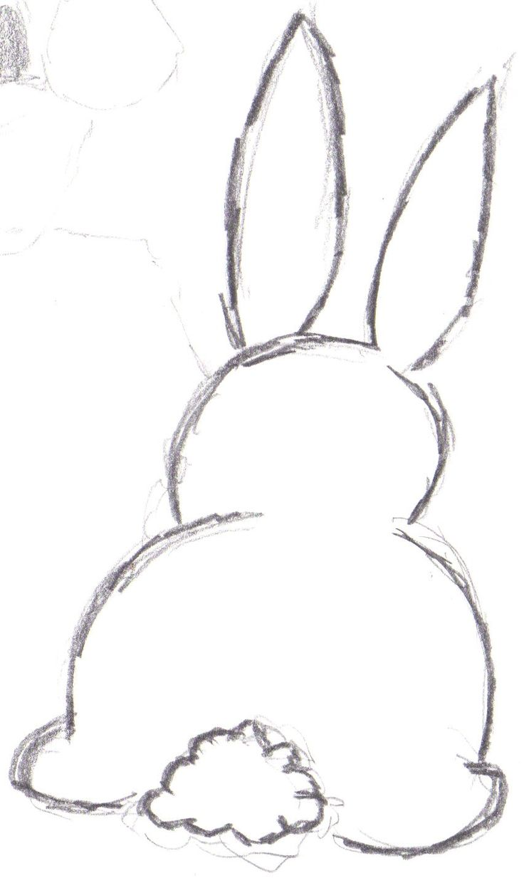 Drawn rabbit basic On ideas 25+ tattoos bunny