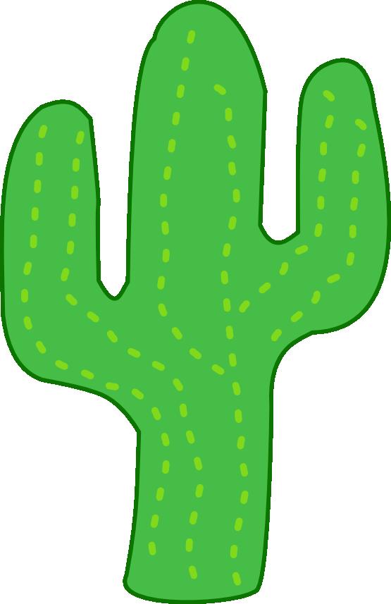 Simple clipart cactus #5