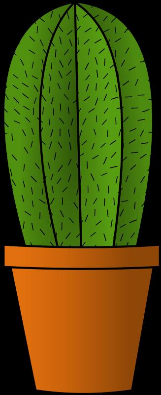 Simple clipart cactus #12