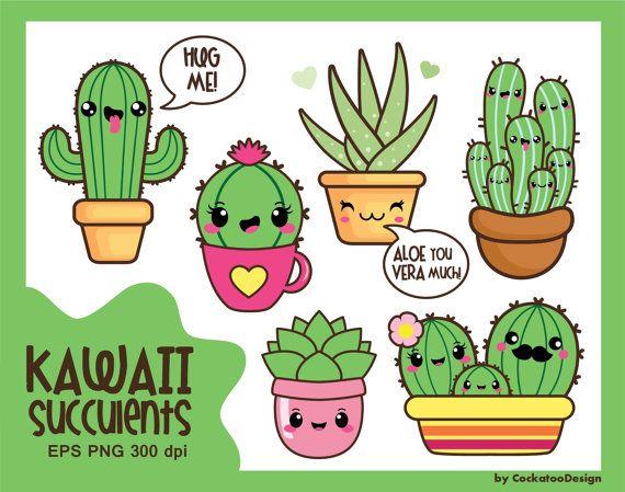 Simple clipart cactus #14