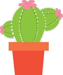 Simple clipart cactus #10