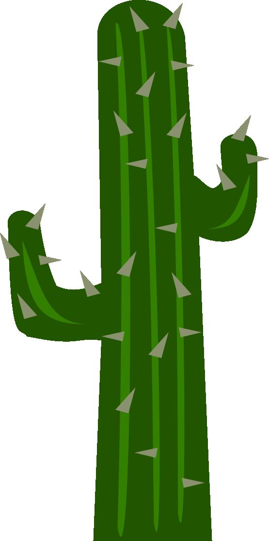 Simple clipart cactus #11