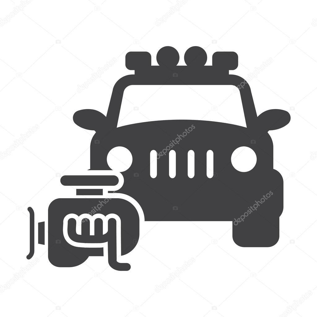 Simple clipart car engine #8