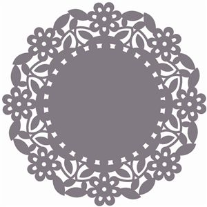 Simple clipart doily On Silhouette Store: Pinterest doily