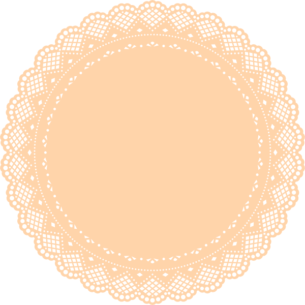 Simple clipart doily Art Doily Free Clip Free