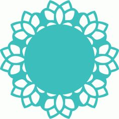 Simple clipart doily With Silhouette Design Store! think
