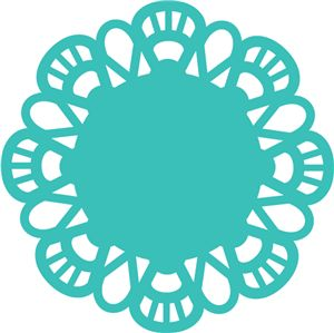 Simple clipart doily Doillies on Silhouette Store: images
