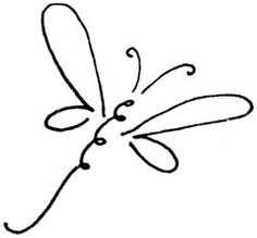 Simple clipart dragonfly Dragon%20fly%20clip%20art%20black%20and%20white Outline Clipart Panda Free