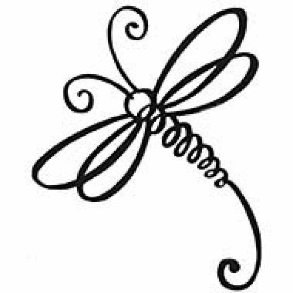 Simple clipart dragonfly Simple Clipart Dragonfly Image Dragonfly