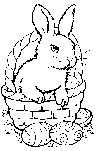 White clipart easter bunny Bunny bunny bunny in bw