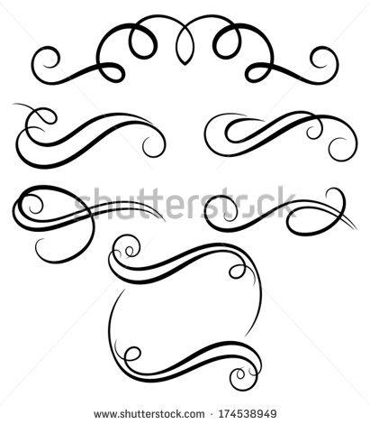 Simple clipart filigree Filigree Filigree Designs Illustrations and