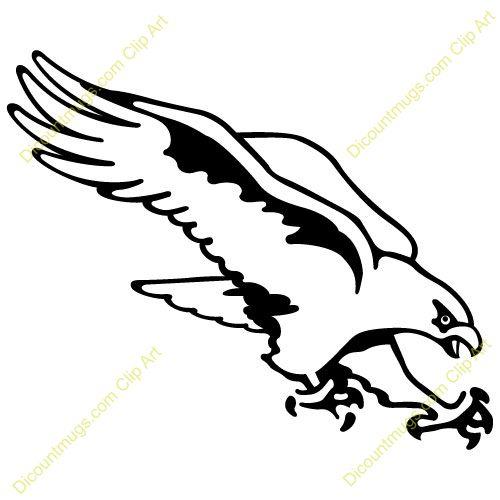 Football clipart hawk #14