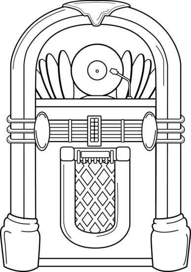 Simple clipart jukebox AUTHOR MARIE Magic FI/FANTASY FOR