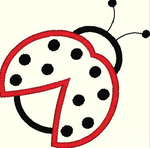 Simple clipart ladybug #14