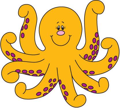 Animl clipart octopus #8