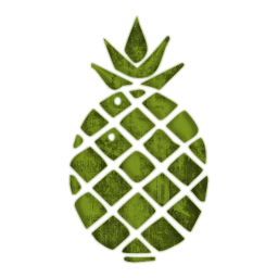 Simple clipart pineapple #12