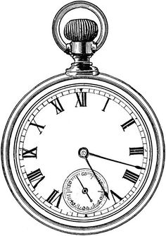 Pocket Watch clipart alice in wonderland Find this Pin  more