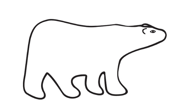 Drawn polar  bear clipart Panda Clip And White Polar