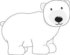 Bear clipart easy Bear by Polar clip ~Hauru7
