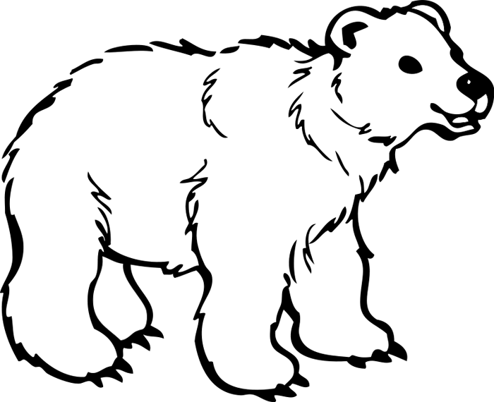 Drawn polar  bear clipart Bear Animations Bear & Clipart
