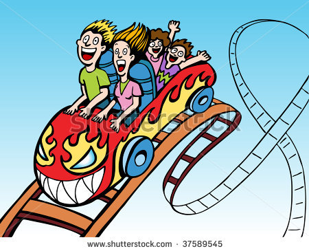 Cartoon clipart roller coaster Rollercoaster Free coaster coaster Roller