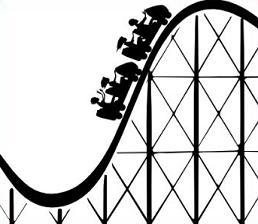 Cartoon clipart roller coaster Roller Roller Clipart Coaster Free