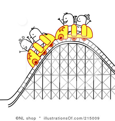 Simple clipart roller coaster Royalty roller  Simple coaster