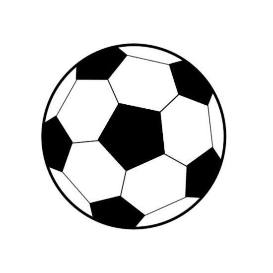 Simple clipart soccer ball Soccer Miniature clipart collections ClipartAndScrap