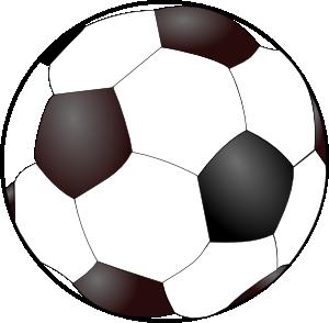 Simple clipart soccer ball Clip Soccer Art Ball Clker
