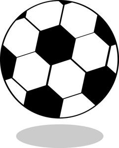 Simple clipart soccer ball Clip Soccer Art Ball And
