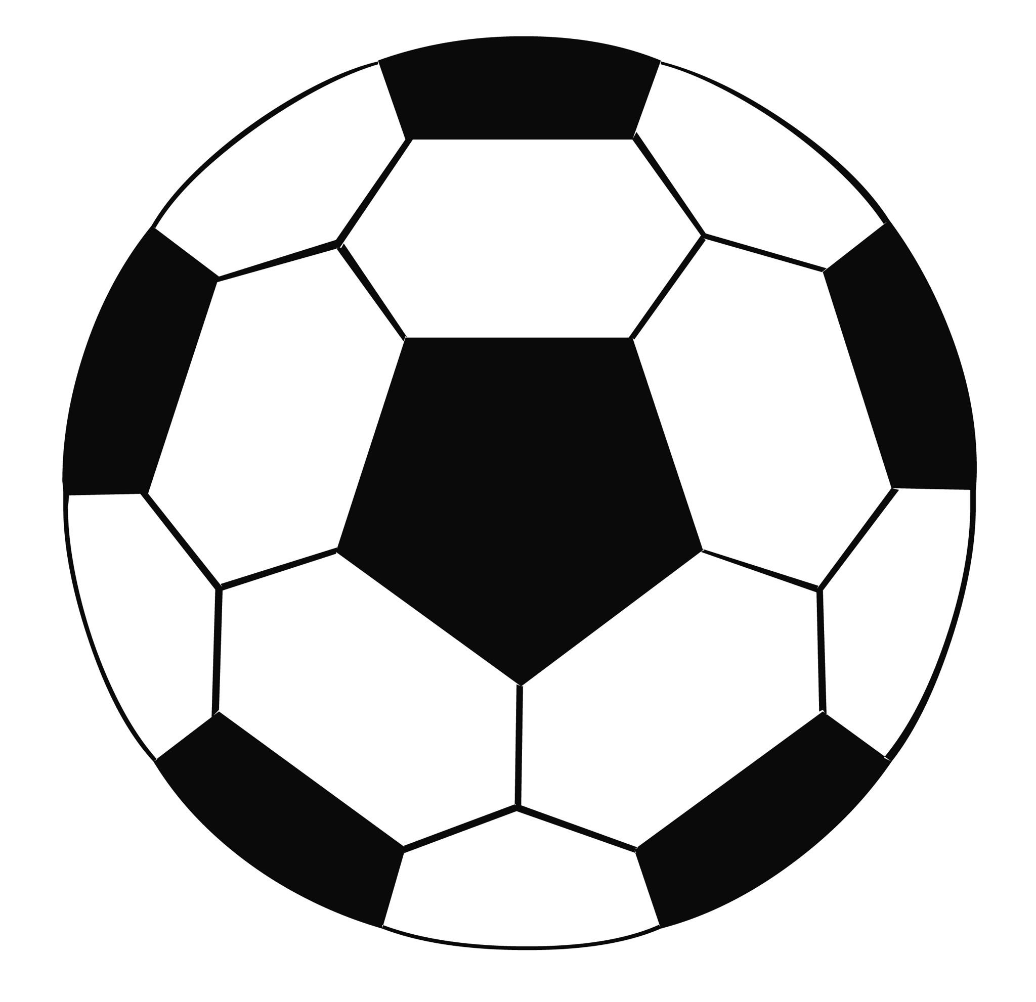 Simple clipart soccer ball Ball Clip soccer soccer Free