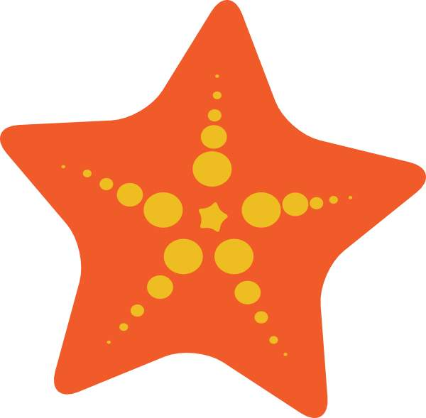 Simple clipart starfish Gallery high Starfish clip com