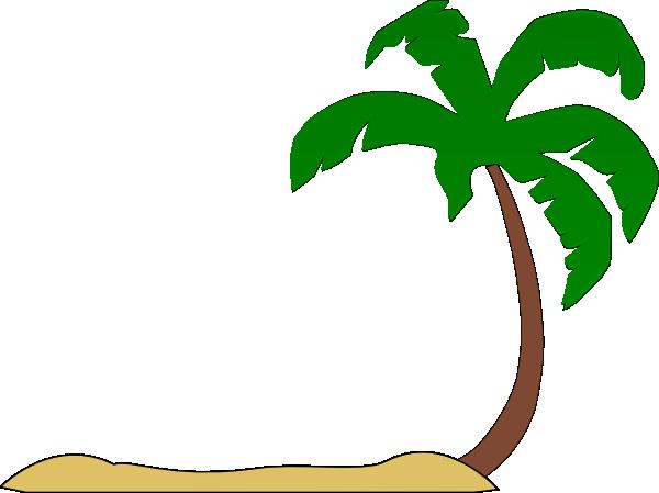 Eiland clipart palm tree beach Leaves art Palm tree free