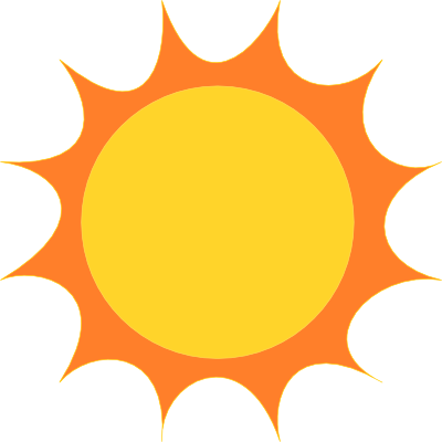Simple clipart sunshine Sun Clipart Art sun clipart