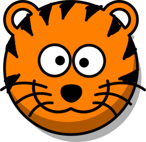 Simple clipart tiger Cute Tiger Clipart Download Tiger
