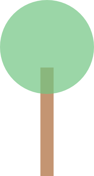 Simple clipart tree Clker at com image Tree
