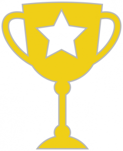 Yellow clipart trophy Trophy Clip Simple Art Gold