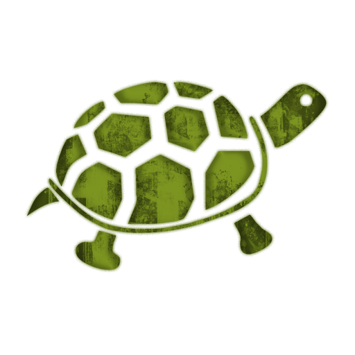 Simple clipart turtle #14