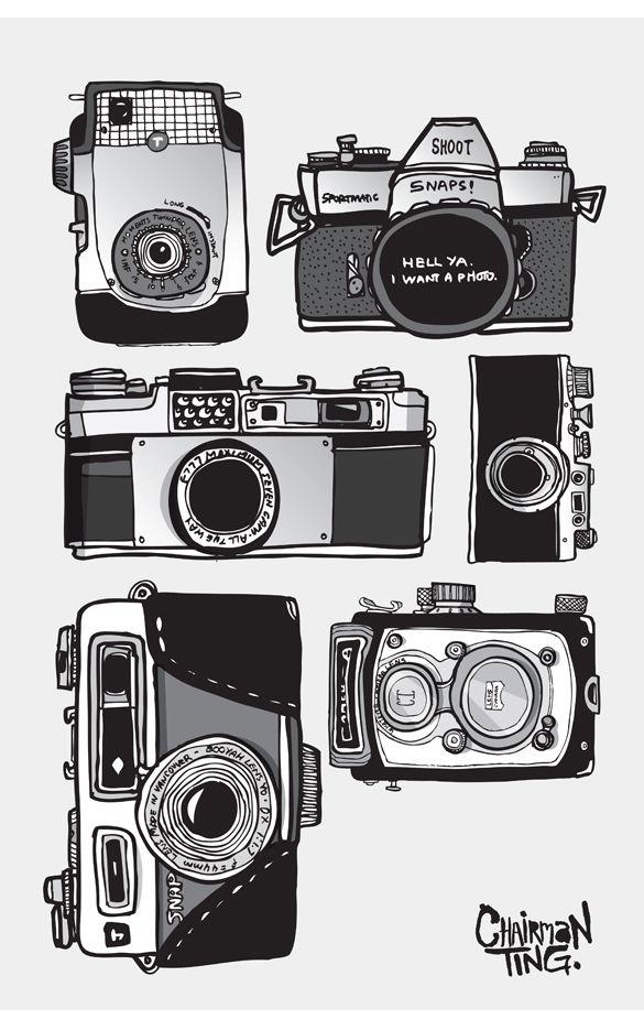 Drawn camera easy Pinterest Camera  ideas 20+
