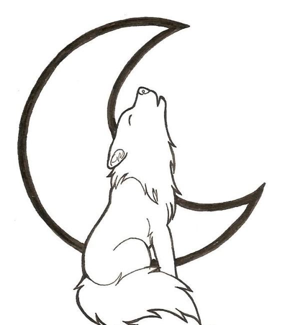 Simple clipart wolf Clip Clip Art Simple