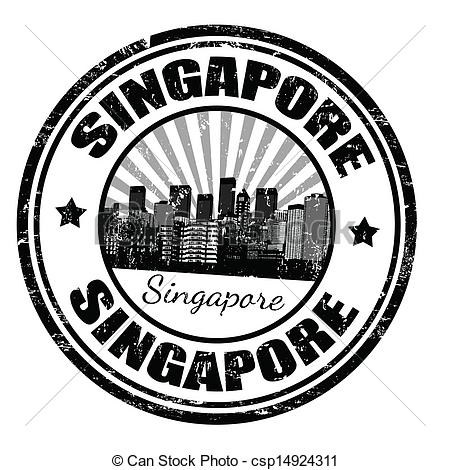 Singapore clipart Clip  of Singapore grunge