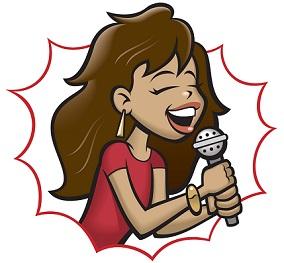 Singer clipart two Free singer Clipart Singers